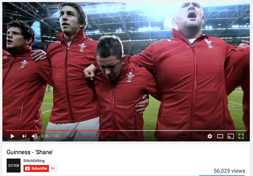 Guinness Rugby Ad