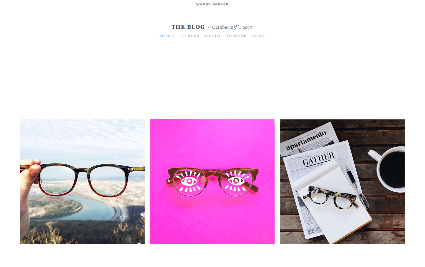 Warby Parker User Generated Content Marketing